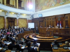"30 January 2012 Public hearing on ""The National Assembly on the Road to European Integration"""