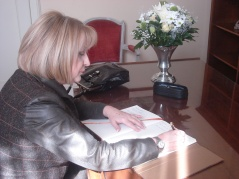 16 March 2012 National Assembly Speaker Prof. Dr Slavica Djukic Dejanovic