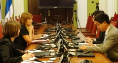 4 September 2015 Foreign Affairs Committee Chairperson in meeting with the newly-appointed Japanese Ambassador to Serbia