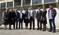 18 April 2015 The National Assembly Economic Caucus in visit to Arandjelovac
