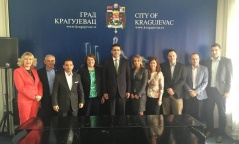 16 May 2015 The members of the Economic Caucus in Kragujevac, Raca and Topola