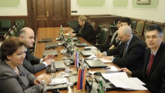 18 January 2016 The members of the PFG with Armenia in meeting with the Armenian parliamentary delegation