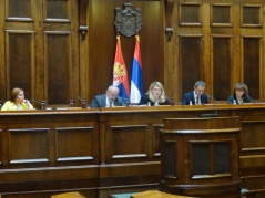 23 November 2015 Participants of the fifth meeting of the Serbian Parliamentary Energy Policy Forum