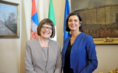17 September 2015 The National Assembly Speaker and the President of the Italian Chamber of Deputies