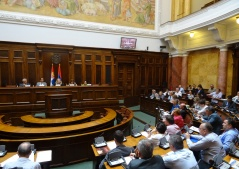 2 September 2015 Participants of the third meeting of the Serbian Parliamentary Energy Policy Forum