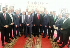 5 April 2016 Participants of the session of the Inter-Parliamentary Assembly on Orthodoxy in Moscow
