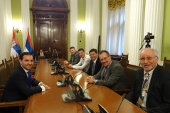 13 April 2016 Deputy Speaker Marinkovic and the PEUS delegation