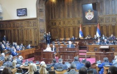 20 December 2016  Fifth Special Sitting of the National Assembly of the Republic of Serbia in 2016