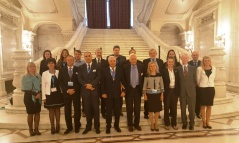 "28 September 2016 Participants of the interparliamentary workshop ""European parliamentarians fighting modern slavery"""