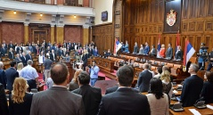 3 October 2017 First Sitting of the Second Regular Session of the National Assembly of the Republic of Serbia in 2017