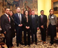 3 December 2017 The National Assembly delegation in visit to the Kingdom of Belgium