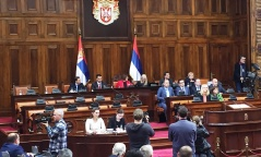 21 April 2017 Second Sitting of the First Regular Session of the National Assembly of the Republic of Serbia in 2017