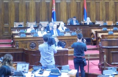 23 November 2017 Fourth Sitting of the Second Regular Session of the National Assembly of the Republic of Serbia in 2017