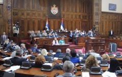 26 May 2017 Fifth Sitting of the First Regular Session of the National Assembly of the Republic of Serbia in 2017