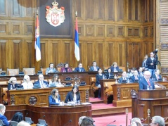 30 October 2017 13th Special Sitting of the National Assembly of the Republic of Serbia, 11th Legislature