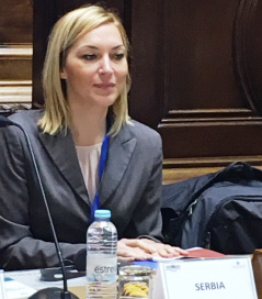 5 November 2018 Aleksandra Maletic and the meeting of the Bureau of the Parliamentary Assembly of the Mediterranean