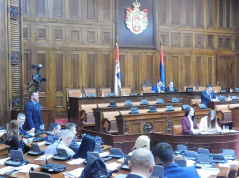 11 April 2018 Third Sitting of the First Regular Session of the National Assembly of the Republic of Serbia in 2018