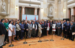 12 July 2018 The participants of the PAM/WTO High Level Parliamentary Conference on Trade Facilitation and Investments in Western Balkans