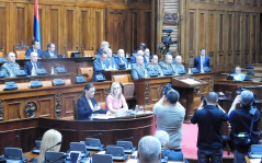 25 April 2018 Fourth Sitting of the First Regular Session of the National Assembly of the Republic of Serbia in 2018