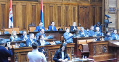 27 March 2018 Second Sitting of the First Regular Session of the National Assembly of the Republic of Serbia in 2018