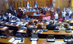 30 October 2018 Third Sitting of the Second Regular Session of the National Assembly of the Republic of Serbia in 2018