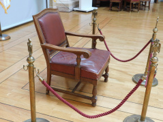 26 July 2018 The armchair found in the Municipality of Arandjelovac