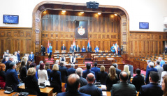 5 March 2019 First Sitting of the First Regular Session of the National Assembly of the Republic of Serbia in 2019