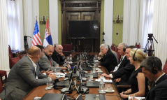6 September 2019 The MPs in meeting with the US senators