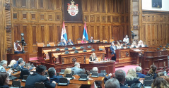 8 July 2019 13th Extraordinary Session of the National Assembly of the Republic of Serbia, 11th Legislature
