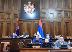 9 September 2019 16th Extraordinary Session of the National Assembly of the Republic of Serbia, 11th Legislature