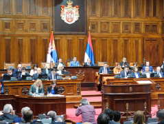 18 April 2019 Fourth Sitting of the First Regular Session of the National Assembly of the Republic of Serbia in 2019