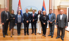 22 May 2019 The members of PFG with Slovenia and Slovenian Ambassador to Serbia Iztok Jarc