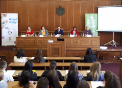 8 October 2019 National Assembly Deputy Speaker Prof. Dr Vladimir Marinkovic opens student parliament