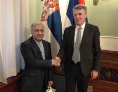 26 December 2019 The Chairman of the Foreign Affairs Committee and the Ambassador of the Islamic Republic of Iran to Serbia