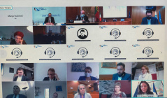 1 December 2020 Participants of the virtual COSAC meeting under the auspices of the German Presidency of the EU Council