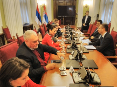 4 March 2020 The PFG with Bosnia and Herzegovina in meeting with the Committee on European Integration and Regional Cooperation of the National Assembly of the Republic of Srpska