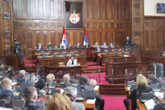 10 November 2020  Second Sitting of the Second Regular Session of the National Assembly of the Republic of Serbia in 2020