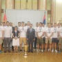 9 August 2015 Welcome celebration for the Serbian national water polo team at the National Assembly House