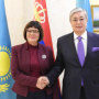 7 November 2017 The National Assembly Speaker and the Chair of the Kazakh Senate