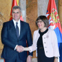 12 October 2017 The National Assembly Speaker and the President of the Montenegrin Parliament